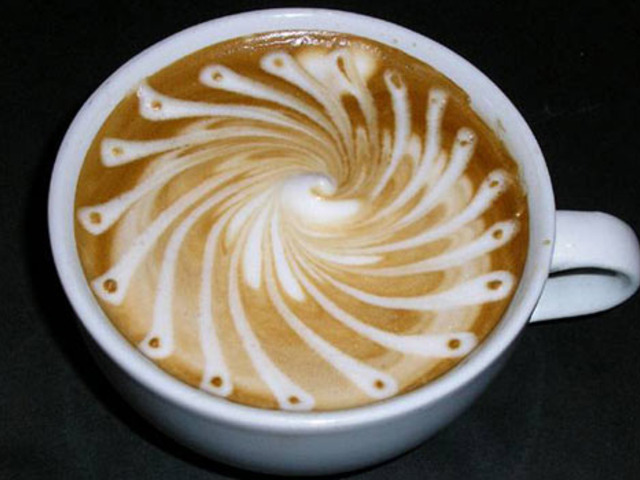 Latte Art Designs : Amazing latte art